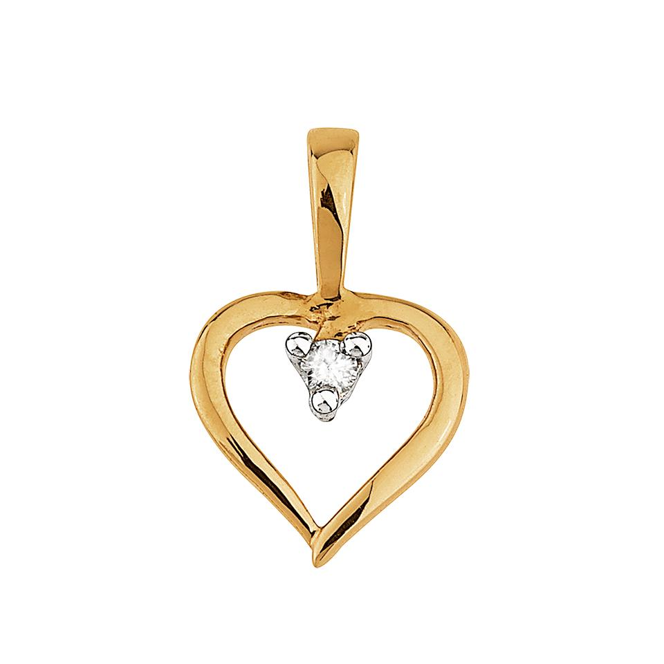 Diamanthäng i 18K guld