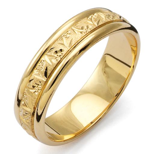 Förlovningsring i 18K guld, 72