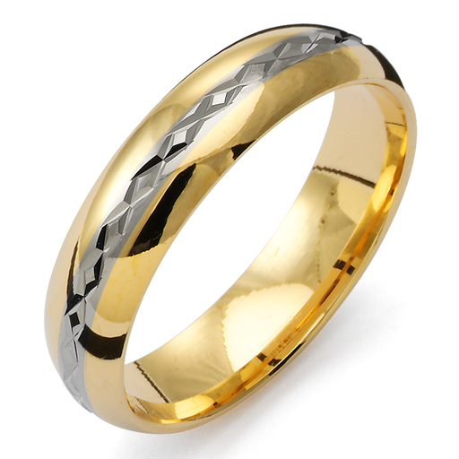 Förlovningsring 18K guld, 72
