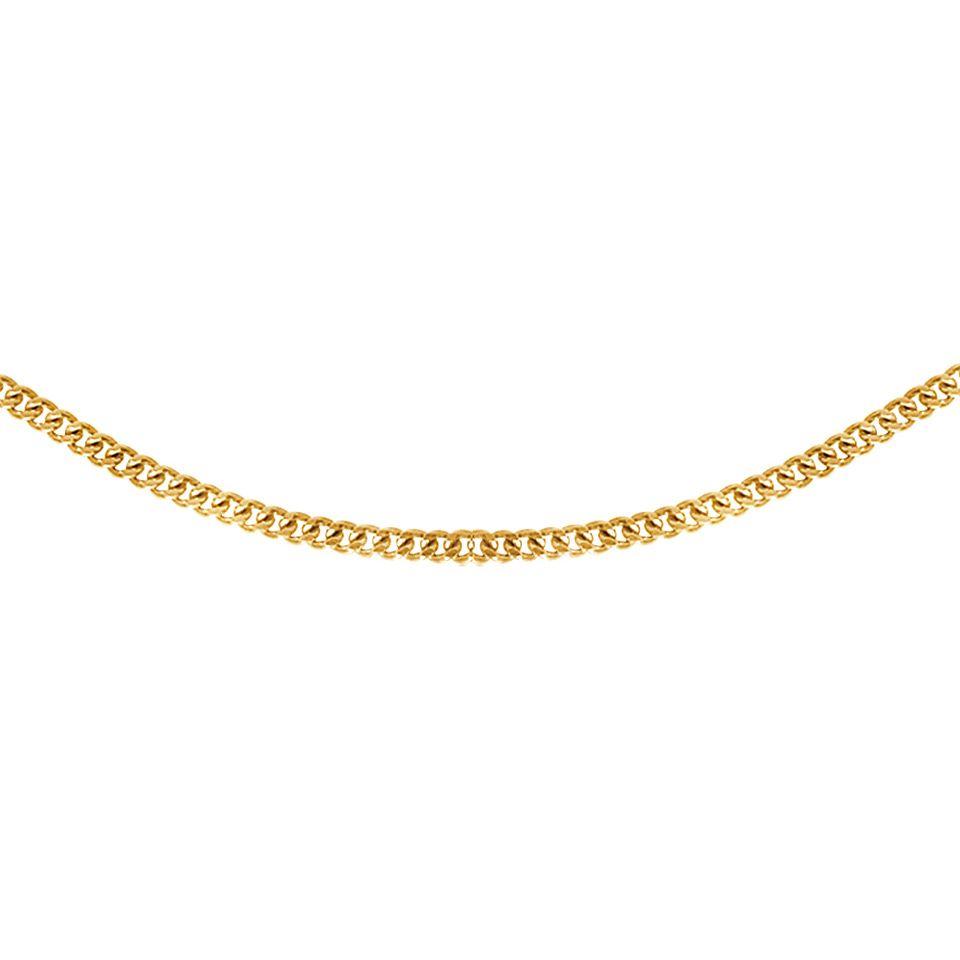 Kedja i 9K guld 42cm
