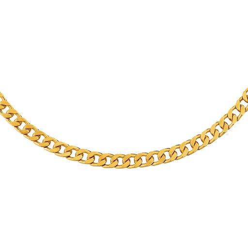 Pansarlänk i 18K guld 55 cm - Guldfynd 2c473499269cc