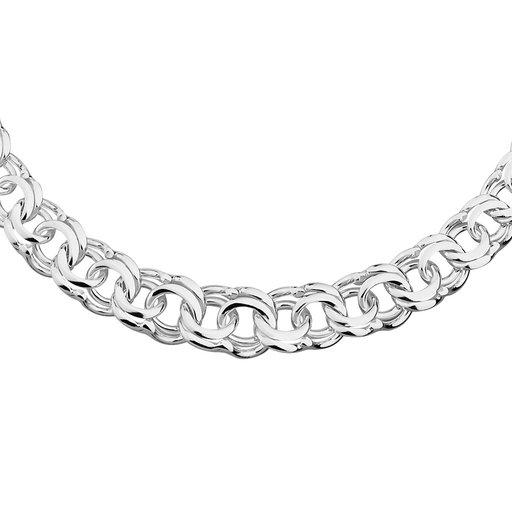 Halsband i äkta silver Guldfynd