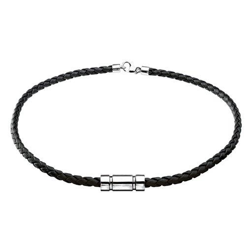 Halsband i läder - Guldfynd 598d747236221