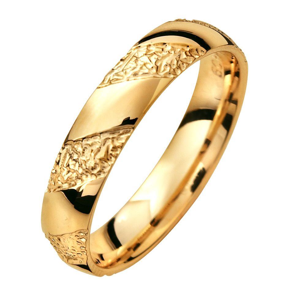 Förlovningsring i 18K guld, 76