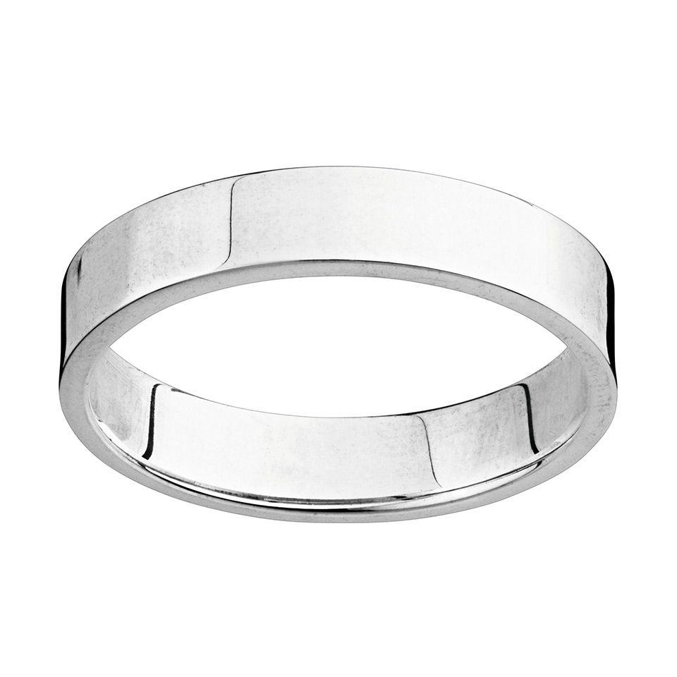 Förlovningsring i äkta silver, 19.5