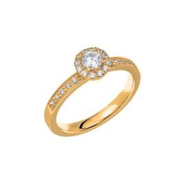 Diamantring 18K guld e3da788e62cb0