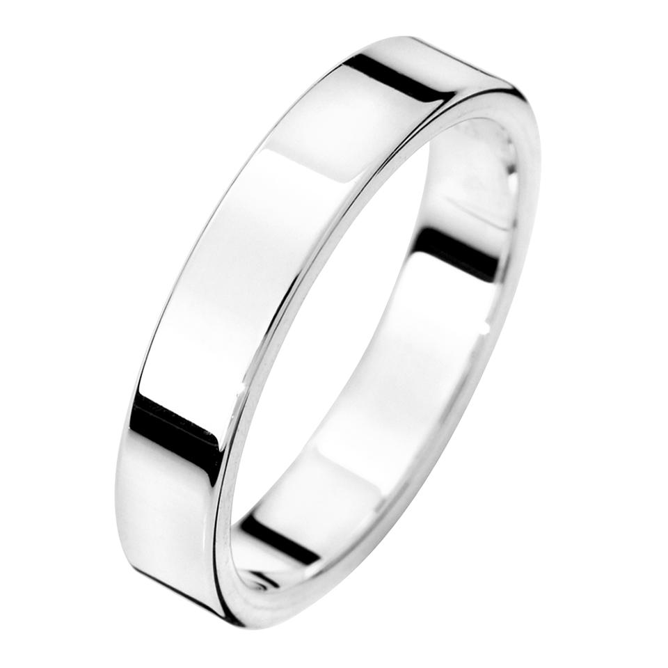 Förlovningsring i äkta silver, 44